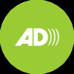 Ikona - logo audiodeskrypcji